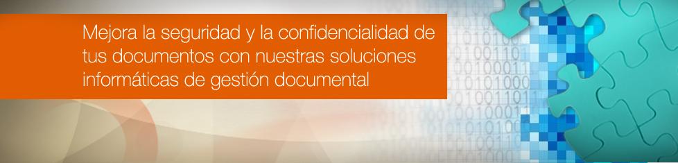 2. Mejora la seguridad y la confidencialidad de tus documentos con nuestras soluciones informáticas de gestión documental